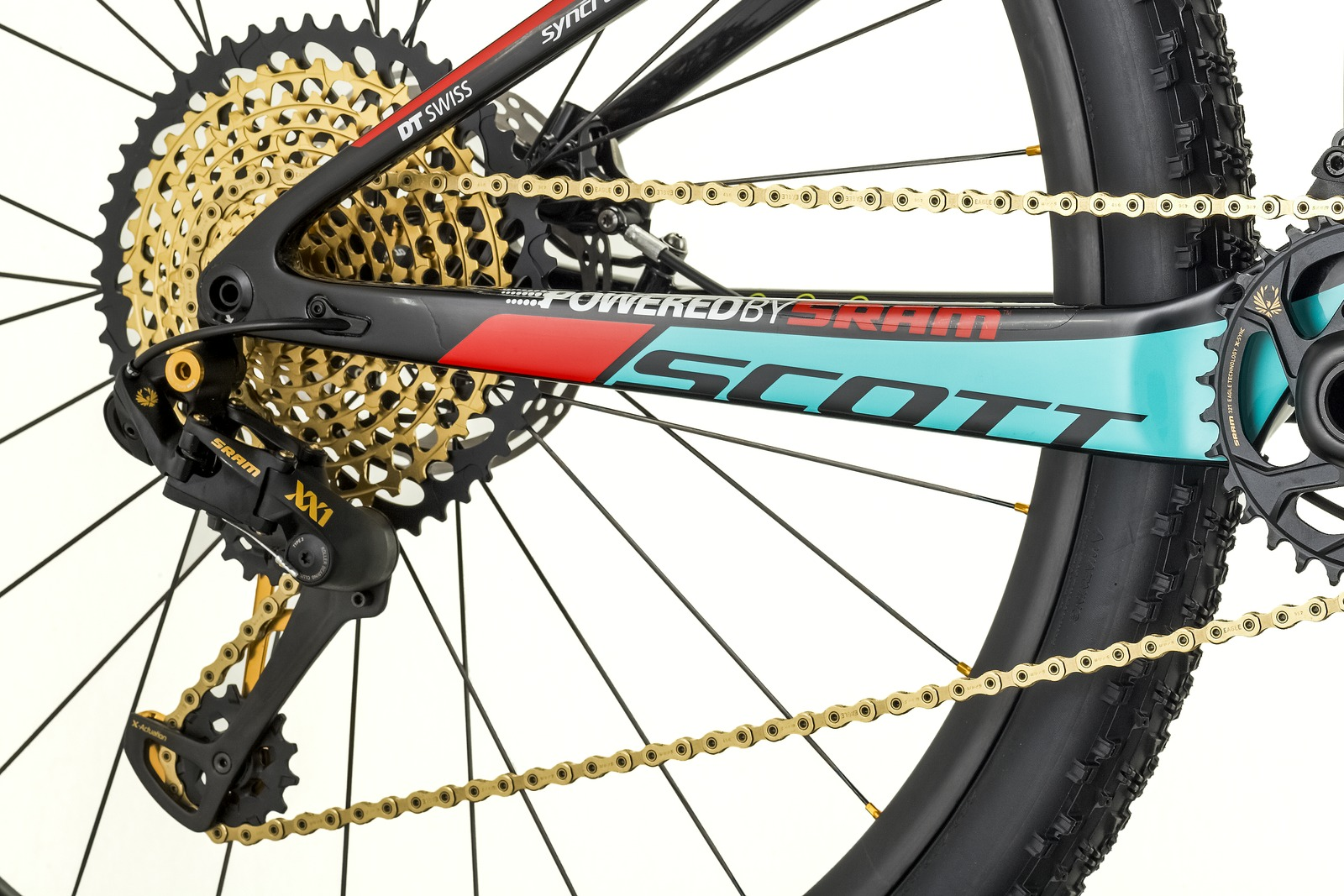 Contessa Scale RC 900 Worldcup - Drivetrain
