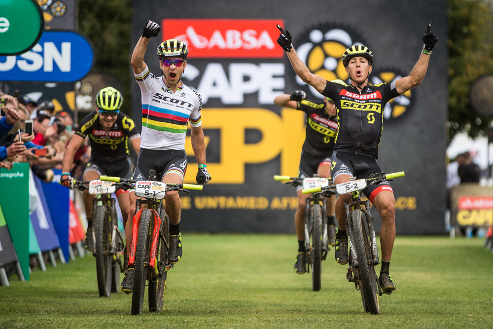 SCOTT-SRAM Takes the Overall Lead