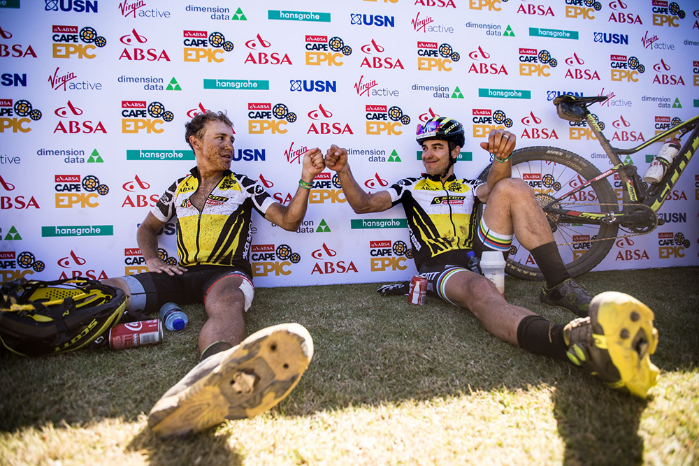 One Step Away from Two Cape Epic Titles
