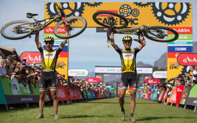 Double Overall Victory for SCOTT-SRAM MTB Racing at 2017 Absa Cape Epic