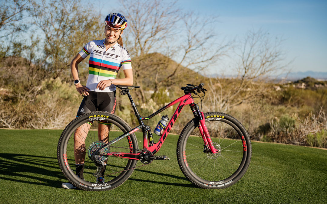 2c369f0a8 Kate Courtney and Lars Forster join SCOTT-SRAM MTB Racing